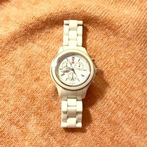 💜 Authentic Michele Ceramic Watch 💜